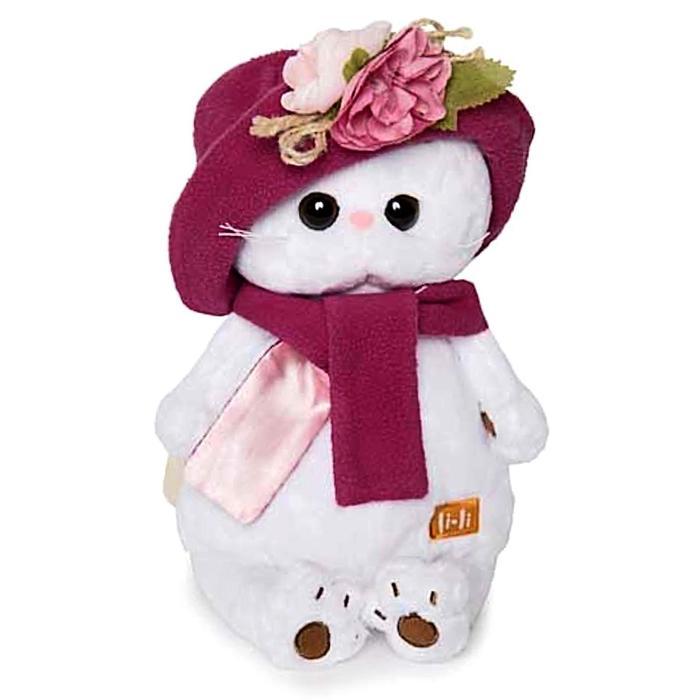 Мягкая игрушка «Кошечка Ли-Ли» в панаме и шарфе, 24 см - фото 4468400