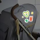 Наклейки светоотражающие на коляску «Маленькое чудо» (набор)