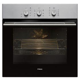 Духовой шкаф Hansa BOEI 68112, электрический, 65 л, 8 режимов, функция гриля, нерж. сталь
