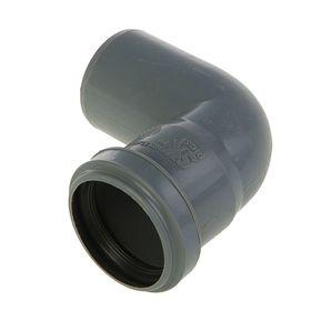 Отвод канализационный SK-plast, 50 мм, 90° Ош