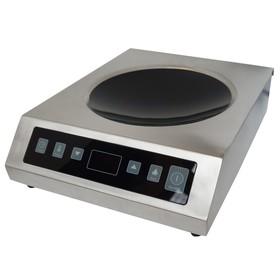 Плита Gemlux GL-CIC35W, 3500 Вт, индукционная, сенсорное упр.-е, для сковород WOK