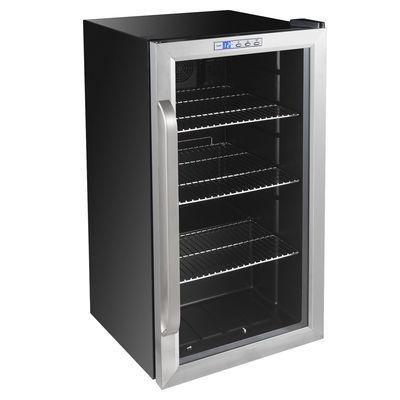 Холодильный шкаф Gemlux GL-BC88WD, витринного типа, 88 л, +2 до +10°С, подсветка