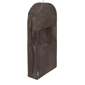 Чехол для шуб  LUX длинный, цвет коричневый