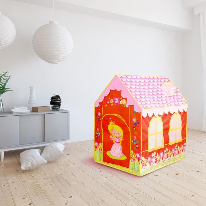 Игровая палатка «Домик принцессы», окна: сетка