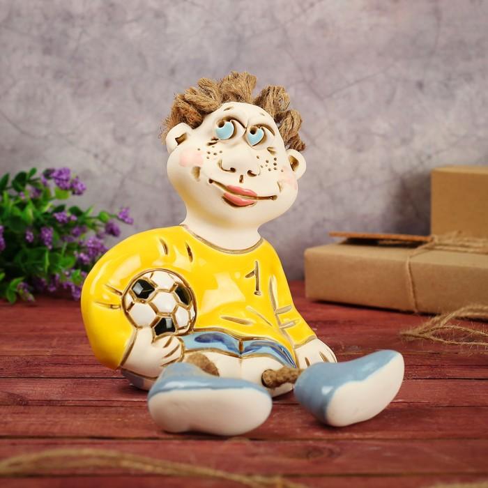 "Статуэтка ""Футболист"" 18 см микс"