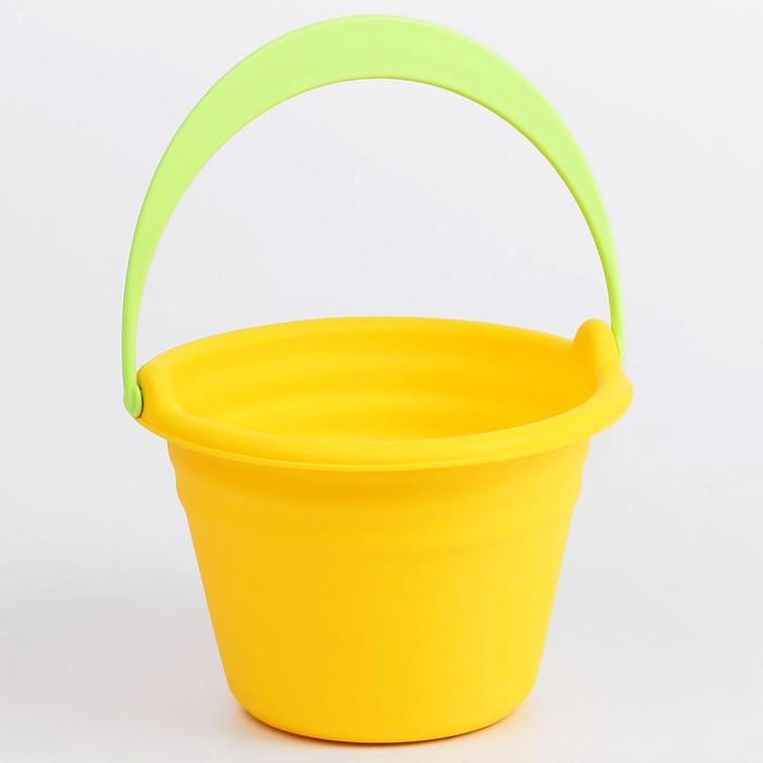 Игрушка для купания «Ведёрко», мягкое, МИКС