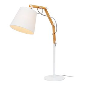 "Настольная лампа ""Pinocchio"" 1x60W E27 белый 20x55x63 см"