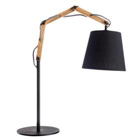 """Настольная лампа """"Pinocchio"""" 1x60W E27 черный 20x55x63 см"""