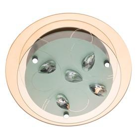 "Светильник ""Tiana"" 1x60W E27 хром 24x24x9 см"