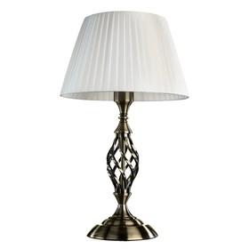 "Настольная лампа A8390LT-1AB ""Zanzibar"" 1x60W E27 28x28x38 см"