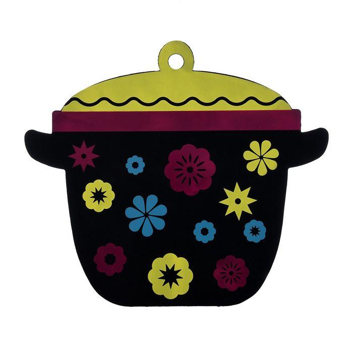 Подставка термостойкая «Кастрюлька», цвет МИКС