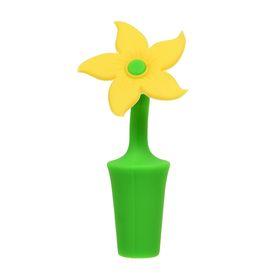 Пробка для бутылки «Цветочек», цвет МИКС