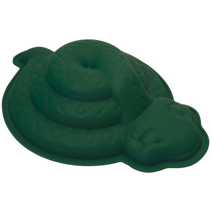 Набор кулинарный, 2 предмета: форма для выпечки «Змея», подставка
