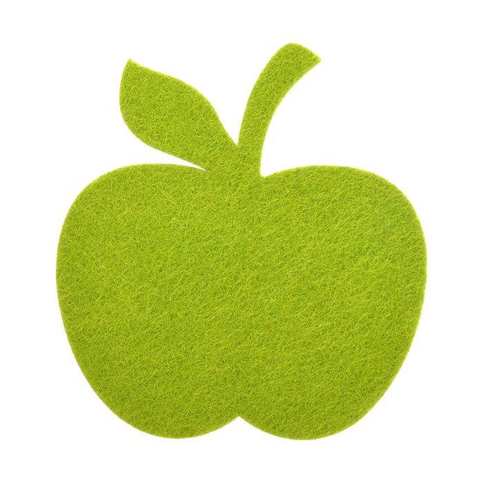 Подставка «Яблоко» фетровая, цвет МИКС