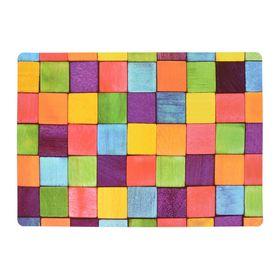 Салфетка сервировочная «Кубики»