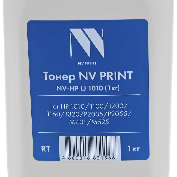 Тонер NV PRINT LJ 1010 для HP 1010/1100/1200/1160/1320/P2035/P2055/M401/M525, универсал,1 кг - фото 415605558