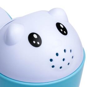 Ковш-игрушка «Котёнок», цвет голубой - фото 4635510
