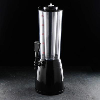 """Башня пивная 2,5 л """"Меркурий"""", с емкостью для льда"""
