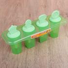"""Форма для мороженого """"Сладости"""", 4 ячейки: 3,5х3,5х7,5 см, цвета МИКС"""