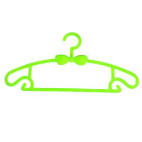Вешалка-плечики детская, размер 30-34, цвет МИКС Ош