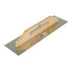 Гладилка TiTOOL Expert, 130х480 мм, нержавеющая сталь, ручка дерево