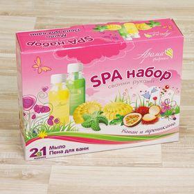 Мыло и пена для ванн своими руками 'Банан и тропикано' Ош