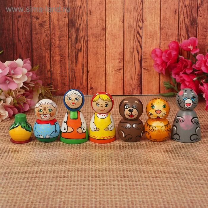 "Кукольный театр ""Репка"", 7 фигур"