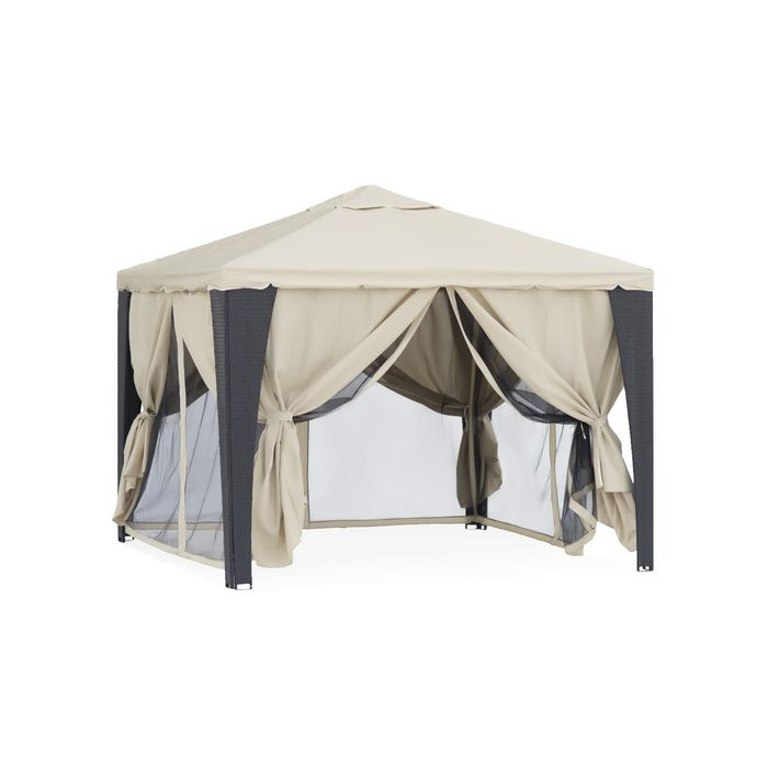 Тент-шатер из полиротанга №3176