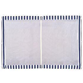 Стенка синяя с москитной сеткой для тента-шатра №4140
