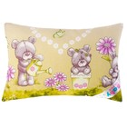Подушка OL-tex 40x60 см, полиэфирное волокно холфитекс, набивка микс, хлопок