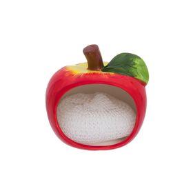 Подставка для губки «Яблоко», с губкой