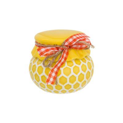 """Горшочек для мёда, """"Соты"""", 10 х 10 х 9 см, 250 мл"""