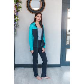Комплект женский (толстовка, брюки) М-760-05 цвет ментол, р-р 42