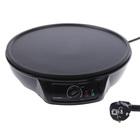 Блинница FIRST FA-5307 Black, 1000 Вт, диаметр 30 см, черный