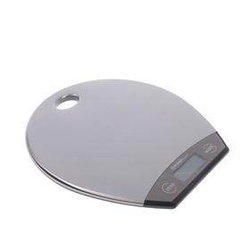 Весы кухонные FIRST FA-6403-1 Grey,  до 5 кг, сталь Ош