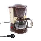 Кофеварка FIRST FA-5458BN, 550 Вт, 5 чашек, подогрев, коричневый