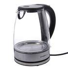 Чайник электрический FIRST FA-5406-9, 2200 Вт, 1.8 л, подсветка, черный