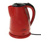 Чайник электрический LIRA LR 0113 red, 1800 Вт, 1.8 л, красный
