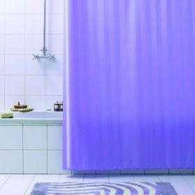 Штора для ванной Rigone, 180 х 200 см, цвет лиловый
