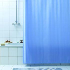Штора для ванной Rigone, 180 х 200 см, цвет синий