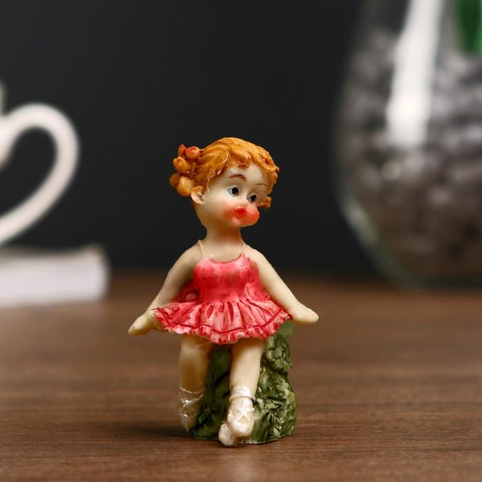 """Сувенир полистоун """"Малышка балерина"""" МИКС 6,5х2,7х2,7 см"""