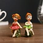 """Souvenir Polyresin """"Baby ballerina"""" MIX 6,5x2,7x2,7 cm"""