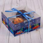 Коробка для капкейка «Волшебного настроения», 16 × 16 × 7,5 см