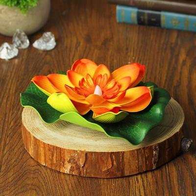 """Декор световой """"Цветок"""" с датчиком прикосновения с водой, цвета МИКС"""