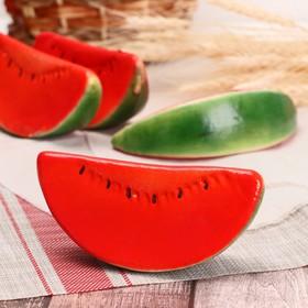 A fake slice of watermelon 14,5*6,5*4,5 cm
