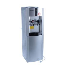 Кулер для воды AquaWork AW 16LD/EN, с охлаждением, 700 Вт, серебристый