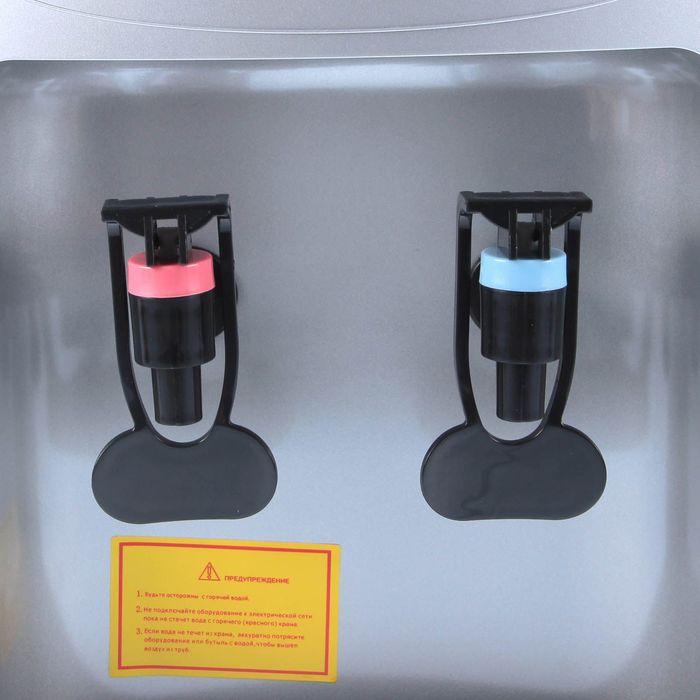 Кулер для воды AquaWork AW 0.7TD, с охлаждением, 700 Вт, серебристый - фото 150308475