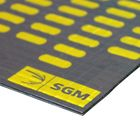 Вибродемпфирующий материал Алюмаст Альфа 4 (М4Ф) 4 мм, лист 0,4 х 0,25 м