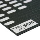 Вибродемпфирующий материал Алюмаст Бета (М4Ф1) 4 мм, лист 0,4 х 0,25 м
