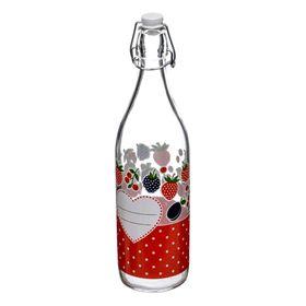 Бутылка с бугельной крышкой «Дафна», объём 1 л